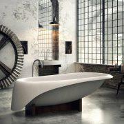 bath concrete soft