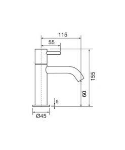 Διαστάσεις Μπαταρίας Forma Porta Bini