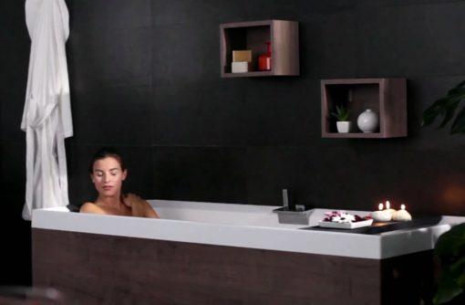 Γιακουμάκης Μπανιέρα Υδρομασάζ Sense 4