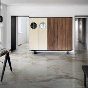 GRANDE MARBLE LOOK CALACATTA VENA VECCHIA LUX RETTIFICATO Size160x320cm