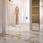 GRANDE MARBLE LOOK CALACATTA VENA VECCHIA SATIN RETTIFICATO Size160x320cm