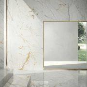 GRANDE MARBLE LOOK GOLDEN WHITE LUX RETTIFICATO Size120x240cm