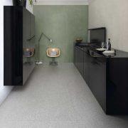 GRANDE MARBLE LOOK TERRAZZO GREY RETTIFICATO Size160x320cm