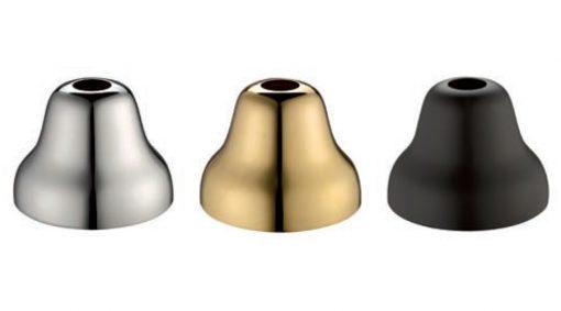 Μπαταρία Νιπτήρος Ψιλή Chrome   Gold   Matt Black