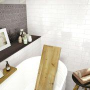 Brick_Glossy_002_White & Decoro Anthracite 10×30