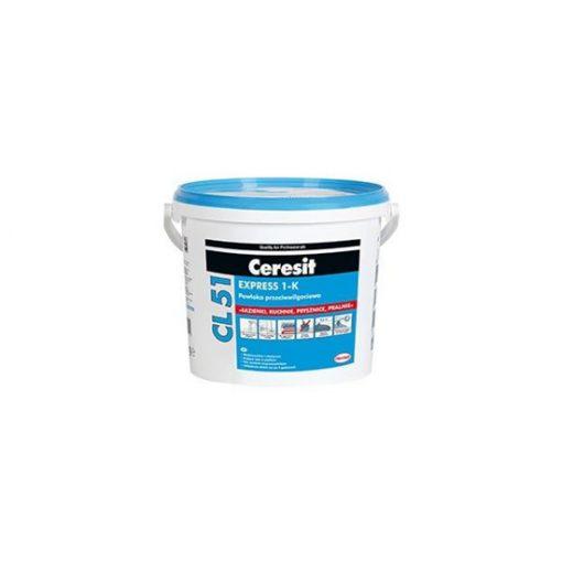 Στεγανοποιητικό 1Κ κάτω από πλακίδια Ceresit CL 51 EXPRESS