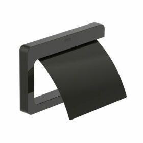 Χαρτοθήκη με κάλυμμα μαύρη