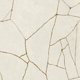Cement Effect Metal Groove Ivory